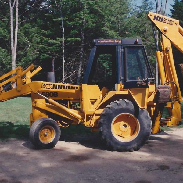 Bills backhoe